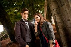 Doctor Who Series 7: Matt Smith & Jenna-Louise Coleman
