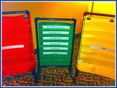 Herding Kats in Kindergarten: Bright Ideas Blog Hop ~ Shower Curtain Rings and PVC.