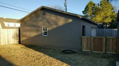 #detachedgarage #construction #remodel #siding #garage #doors  #windows #painting #MikeFournierTulsa #SonriseConstruction Can we build or remodel one for you? http://www.sonrise-construction.com/services/garages.asp