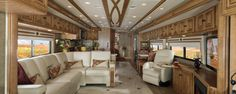 photos of tour bus interiors | Luxury Tour Bus 2013 from Winnebago | Luxury Motor Homes