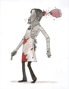 Blood Meridian Illustrations on PhilaU Portfolios Blood Meridian, Will Smith, Novels, Illustrations, Books, Art, Livros, Livres, Kunst