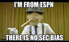 I'm from ESPN