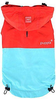 Puppia PAZ(RAINCOAT) - ORANGE RED - XL