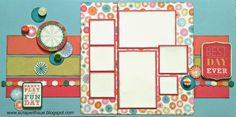Scrap with Sue: #CTMH Best Day Ever layout