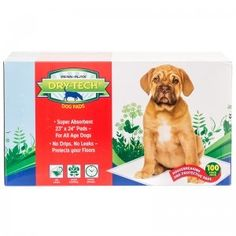 DryTech Doggie Pads wNatural Attractant 23 x 24 Size 50 count ** Click image to review more details.
