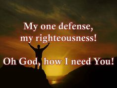 It is good to need the LORD....He wants us to need Him!    Lord, I Need You w/ lyrics By Matt Maher