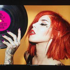Kat Von D knows best. #PinchessDiscos #TiendaDeVinilos #Acetatos #PunkRock #Alternativo
