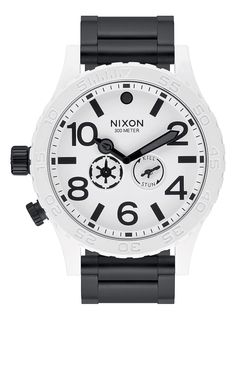 Nixon x Star Wars 51-30 Watch - Stormtrooper White