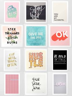 Art Prints - is home to hundreds of thousands of artists from around the globe, uploading and selling their original works as premium consumer goods from Art Prints to Throw Blankets. They create, we produce and fulfill, and every purchase pays an artist. Motivational Quotes For Depression, Inspirational Quotes, Website Design, Branding, No Photoshop, Partys, Layout Design, My New Room, Colors