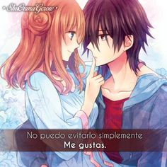 Frases Anime Amor Art Pinterest Anime Couples Anime Y Anime Love