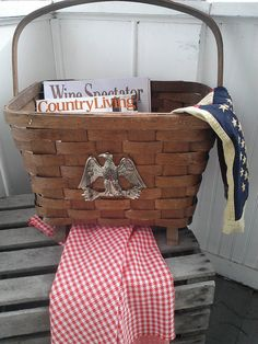 This is a wonderful vintage treasure! A large footed antique basket in very good condition for its age.... There are some areas in weave that