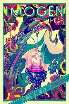 Custom Silk Poster Heart Live At The Royal Albert Hall With The Royal Wall Decor