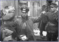 Surrender in Budapest, 1945.