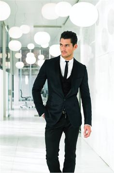 David Gandy. Does anyone else agree that this should be Christian Grey??