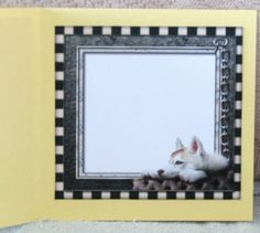 Male card Tablet &amp  Beautiful Dog INSERT by Linda Wright