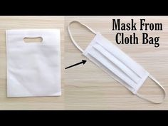 How to make Mask at Home? Easy Face Masks, Diy Face Mask, Diy Sewing Projects, Sewing Tutorials, Mascarilla Diy, Buy Mask, How To Make Paper, How To Make Mask, Pocket Pattern
