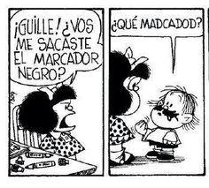 Resultado de imagen para historietas de mafalda y guille