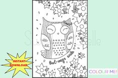 Items similar to Cute Printable Page - Owl-ways Smile Dashboard - Owl Planner Dashboard - Planner Cover - Printable Dashboard on Etsy Printable Planner, Printables, Planner Dashboard, Cute Planner, Coloring Pages, Colouring, Planner Inserts, More Cute, A5