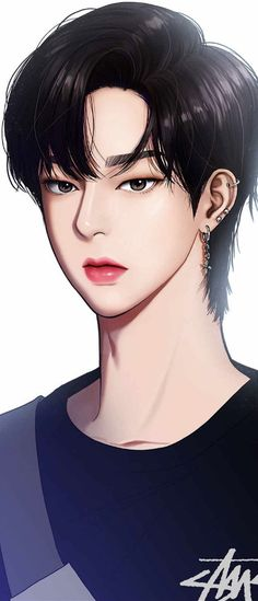The secret of angel Korean Anime, K Wallpaper, Webtoon Comics, Handsome Anime Guys, Handsome Boys, You Draw, Cute Anime Boy, True Beauty, Cute Wallpapers