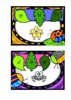 Players select a Buggy Blends card and identify the picture shown. Players must then look at the blends written on the card and clip a peg onto the one that corresponds to the picture.Teacher tip: Place a sticker or marking on the back of each correct answer so that students can flip the card over and see if they are correct!Set of 60 cards and instructions for use.