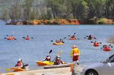 Take a Ranger led Kayak tour at Whiskeytown Lake near Redding California