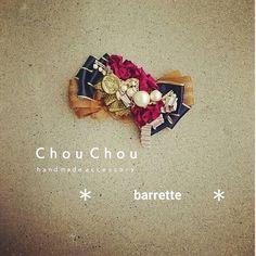 #Handmade #hair ornaments #ハンドメイド #手作り #鹿児島 #美容室 #chouchou #バレッタ Bead Embroidery Jewelry, Beaded Embroidery, Barrette, Handmade Hair Accessories, Ribbon Art, Hair Ornaments, Japanese Fashion, Blog Entry, Hair Bows