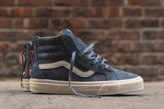 """Vans Varsity Sk8-Hi Zip DX """"Blue"""" (Detailed Pictures) - EU Kicks: Sneaker Magazine"""