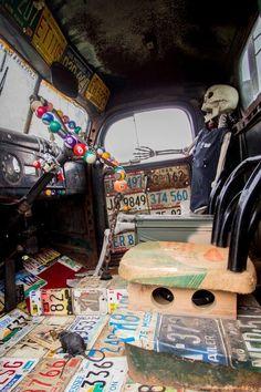 Cool JR Rat Rod Interior!