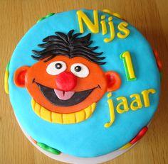 Ernie taart voor Nijs