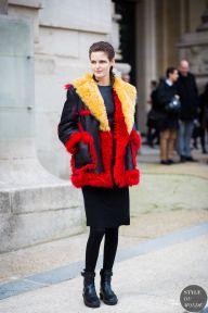 STYLE DU MONDE / Paris Fashion Week FW 2015 Street Style: Zlata Mangafic  // #Fashion, #FashionBlog, #FashionBlogger, #Ootd, #OutfitOfTheDay, #StreetStyle, #Style