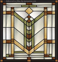 Quoitzel Stained Glass Window Clings for clear transom windows. Use a craftsman/mission style pattern like this and place one on each side to up the real factor. Stained Glass Window Clings, Stained Glass Quilt, Faux Stained Glass, Stained Glass Designs, Stained Glass Panels, Stained Glass Projects, Stained Glass Patterns, Leaded Glass, Mosaic Glass