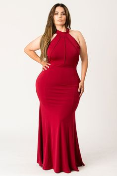 High on trend hourglass dress Plus Size Holiday Dresses, Plus Size Party Dresses, Plus Size Outfits, Plus Size Fashion Tips, Fashion For Petite Women, Curvy Fashion, Fashion Top, Emo Fashion, Gothic Fashion
