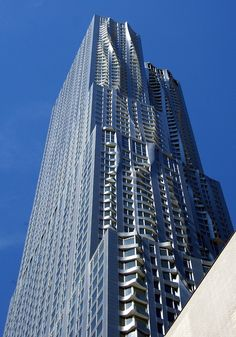 Modern Architecture New York City eight spruce street | lower manhattan, new york | frank gehry