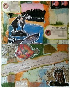 Mail art by Sandjw60 of ATC'S For All.