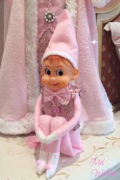 Vintage Pink Large Elf <3