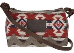 Pendleton Mountain Majesty Dopp Purse. Shoulder or cross body barrel style purse. NativeDirect.com