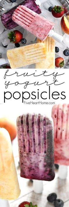 Fruity Yogurt Popsic