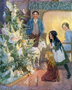 Christmas-tree fairies.