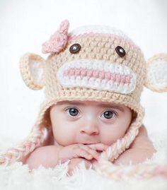 monkey hats...im obsessed