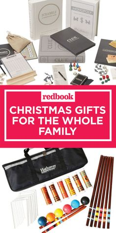 Family christmas gifts+group gift