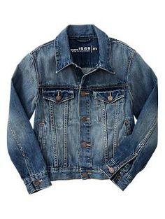 Basic denim jacket | Gap
