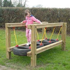 garten spielplatz 30 Modern Backyard Playground Ideas For Kids Diy Outdoor Toys, Outdoor Toys For Kids, Outdoor Play Areas, Backyard For Kids, Backyard Games, Outdoor Fun, Diy For Kids, Outdoor Projects, Diy Garden Ideas For Kids