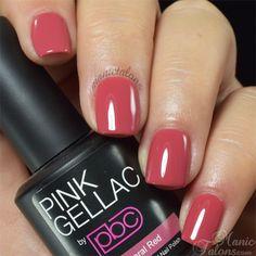 Pink Gellac Coral Red