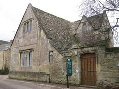 Filming locations in Bampton. Brampton Library used for the hospital in Downton Abbey (2010)