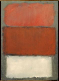 MARK ROTHKO Untitled oil on canvas 1960 69 x 50 1/8 inches (175.26 x 127.33 cms) San Francisco Museum of Modern Art