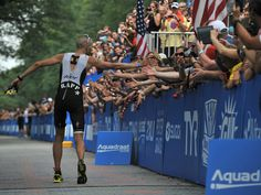 Jordan Rapp-- winner of 2012 US Ironman Championship in NYC! Love this shot of him coming down the shoot. Note the postural spider!