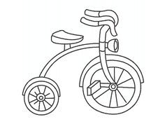 Coloring, Bicycle