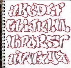 """Résultat de recherche d'images pour """"graffiti sur papier alphabet"""""""