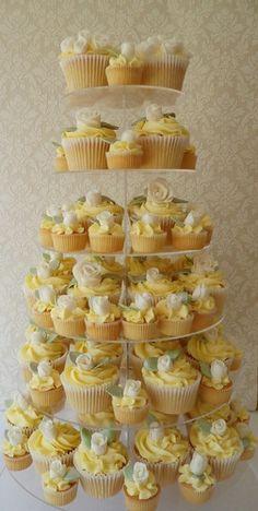 Yellow Cupcakes Pretty Cupcakes Lovely !!! & Gorgeous !!!