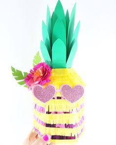 Pretty in Pink Pineapple Piñata